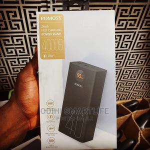 Romoss 40,000mah 18watts Fast Charging Power Bank   Accessories for Mobile Phones & Tablets for sale in Lagos State, Ikeja