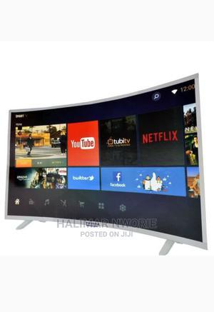 "Polystar 32"" Inch Smart Curved TV | TV & DVD Equipment for sale in Abuja (FCT) State, Utako"