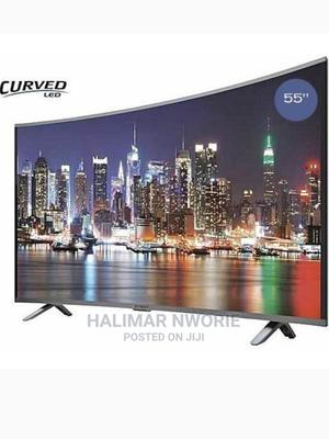 Polystar 55′′Inches -Curved UHD Android Smart 4K 2021 Model | TV & DVD Equipment for sale in Abuja (FCT) State, Kubwa