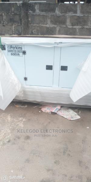 60kva Soundproof Diesel Generator | Electrical Equipment for sale in Lagos State, Ilupeju