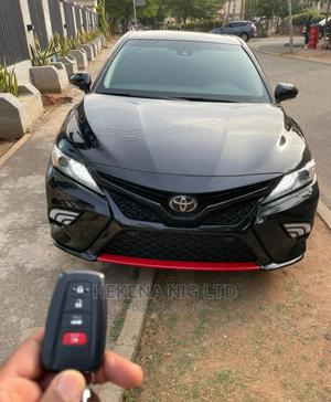 Toyota Camry 2018 XSE FWD (2.5L 4cyl 8AM) Black   Cars for sale in Abuja (FCT) State, Garki 2