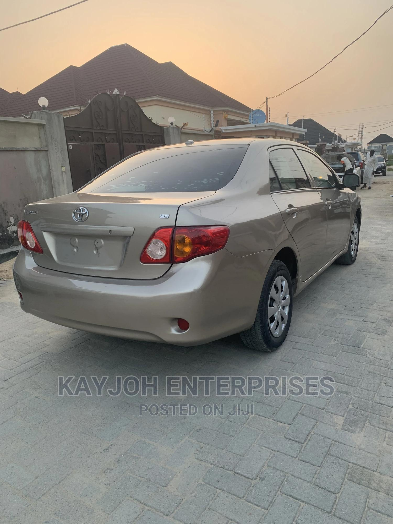 Toyota Corolla 2009 Gold | Cars for sale in Ajah, Lagos State, Nigeria