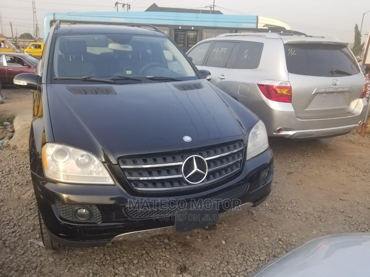 Mercedes-Benz M Class 2007 ML 350 4Matic Black | Cars for sale in Maryland, Lagos State, Nigeria