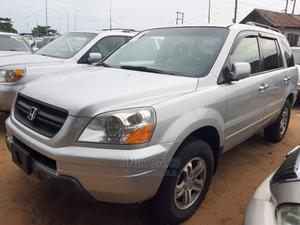 Honda Pilot 2004 Silver | Cars for sale in Lagos State, Apapa
