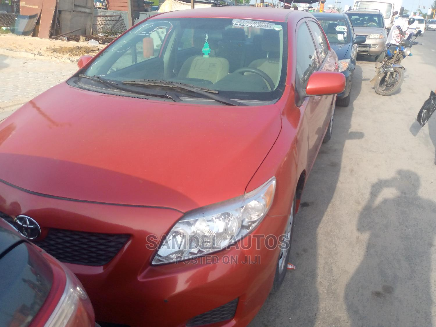 Toyota Corolla 2011 Red | Cars for sale in Ajah, Lagos State, Nigeria