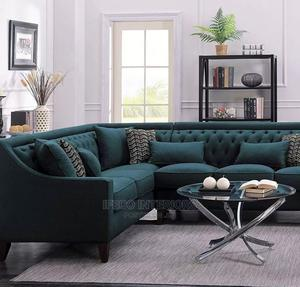 Quality L Shape Sofa Chair | Furniture for sale in Abuja (FCT) State, Central Business District