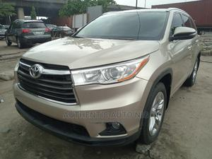 Toyota Highlander 2016 Gold | Cars for sale in Lagos State, Apapa