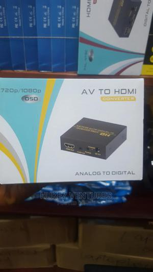 AV to Hdmi Converter(Metal) | Accessories & Supplies for Electronics for sale in Lagos State, Ikeja