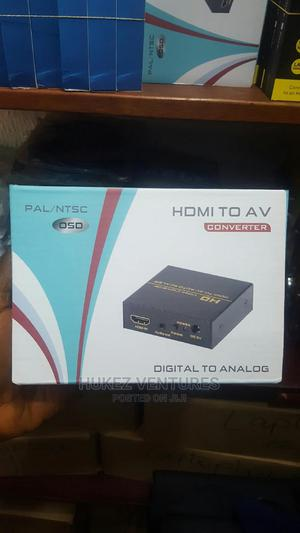 Hdmi to AV Converter (Metal) | Accessories & Supplies for Electronics for sale in Lagos State, Ikeja