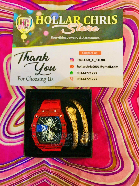 Men's Fashion Wristwatch With Bracelet