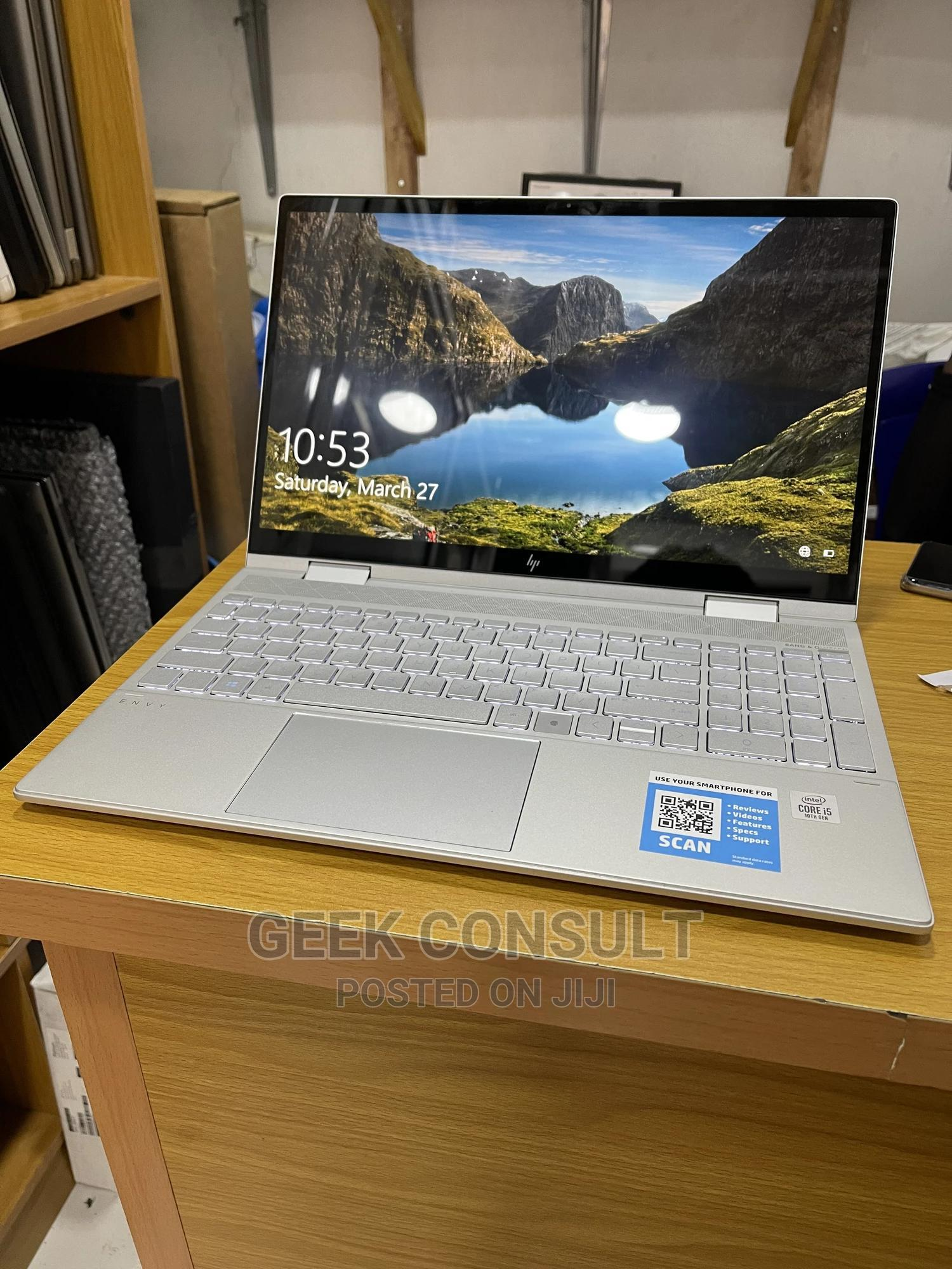 Laptop HP Envy 15 8GB Intel Core I5 SSD 256GB | Laptops & Computers for sale in Ikeja, Lagos State, Nigeria