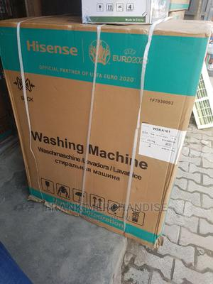 Hisense Washing Machine 10kg Washing and Spinig 100%Copper   Home Appliances for sale in Lagos State, Ojo
