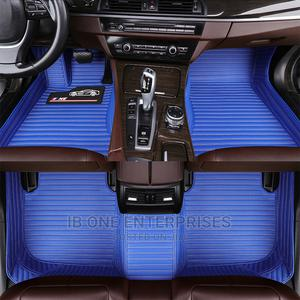 Plain Blue Genuine Leather Car Floor Mat Accessories   Vehicle Parts & Accessories for sale in Lagos State, Ikoyi