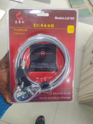 Notebook Cable Lock (2 Metres) | Computer Accessories  for sale in Lagos State, Ikeja