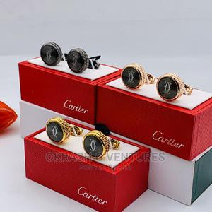 Cartier Cufflinks for Unisex Gold   Clothing Accessories for sale in Lagos State, Lagos Island (Eko)