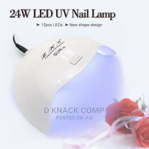 12 LED SUNX3 Nail Dryer for Gel Polish 24W UV Lamp for Nails | Tools & Accessories for sale in Lagos State, Ikoyi