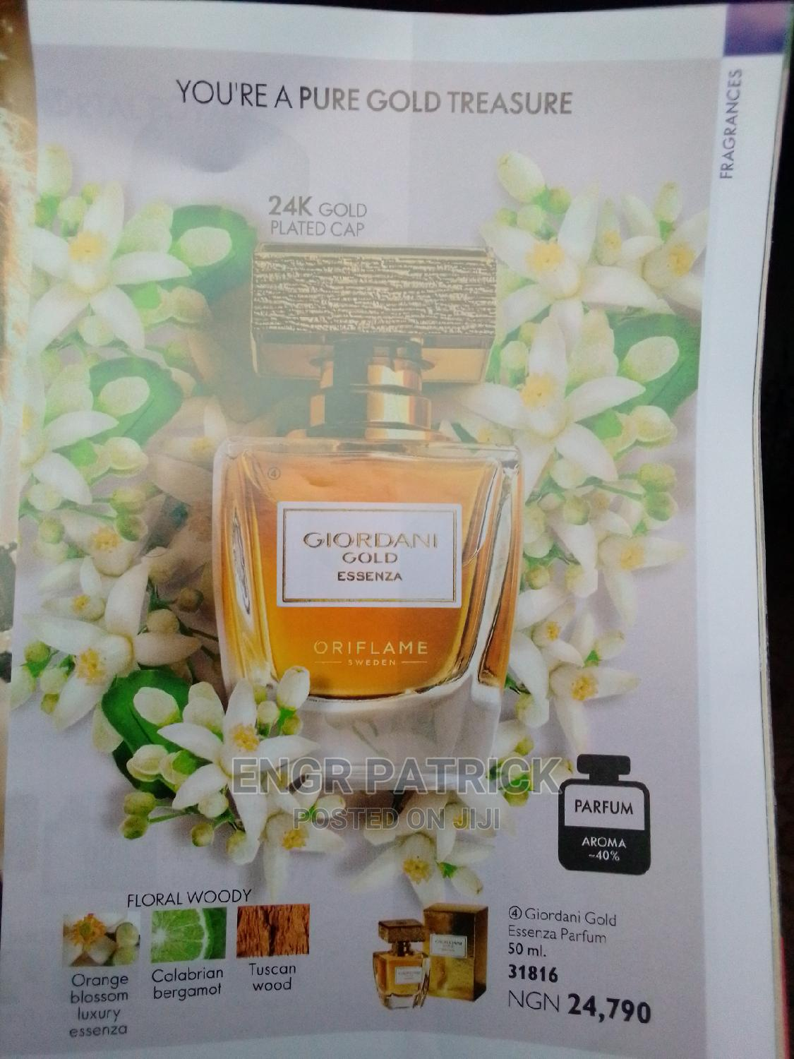 Oriflame Unisex Spray 50 Ml | Fragrance for sale in Port-Harcourt, Rivers State, Nigeria