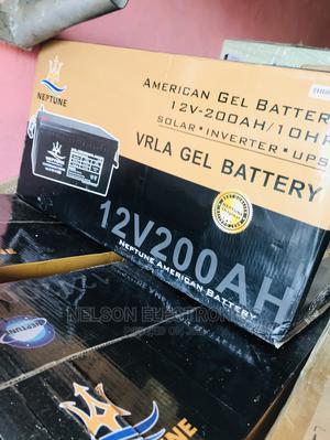 Neptune 12v 200ahs Solar Battery | Solar Energy for sale in Abuja (FCT) State, Kado