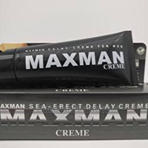 Maxman Sea Erect Delay Creme for Strong Lasting Erection | Sexual Wellness for sale in Lagos State, Ikeja