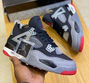 Quality Air Jordan 4 Retro-Bred | Shoes for sale in Lagos State, Ajah