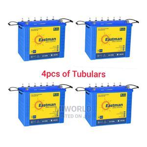 4pcs Of Tubular Batteries | Solar Energy for sale in Lagos State, Lekki
