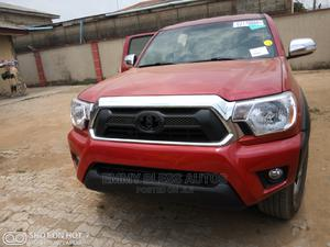 Toyota Tacoma 2010 Double Cab V6 Automatic Red | Cars for sale in Lagos State, Magodo