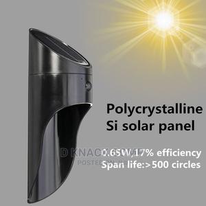 LED Solar Light Outdoors Garden Solar Lamp - Black | Solar Energy for sale in Lagos State, Yaba