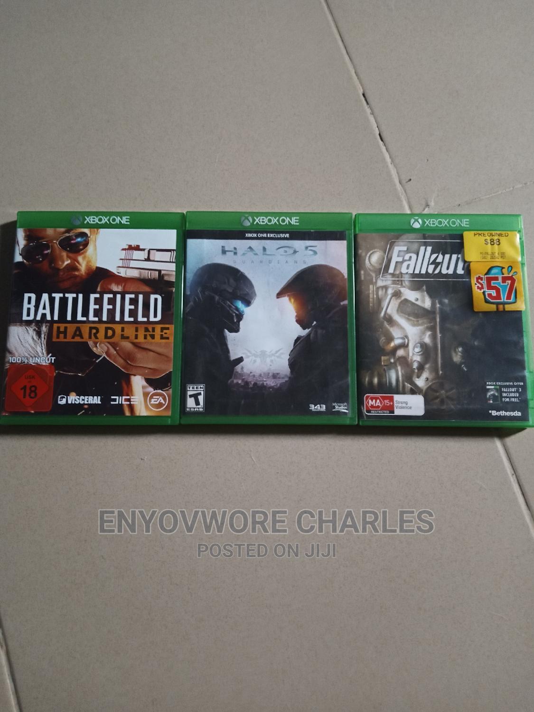 Archive: Xbox One BATTLEFIELD HARDLINE, HALO 5 FALLOUT 4