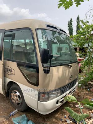 Toyota Coaster 2010 Cream   Buses & Microbuses for sale in Lagos State, Ikeja