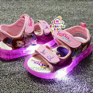 Unique Customised Quality Led Light Sandals | Children's Shoes for sale in Abuja (FCT) State, Lugbe District