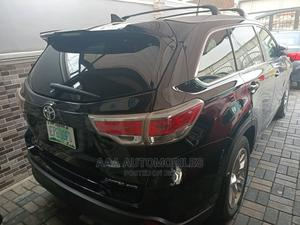 Toyota Highlander 2015 Black   Cars for sale in Lagos State, Surulere