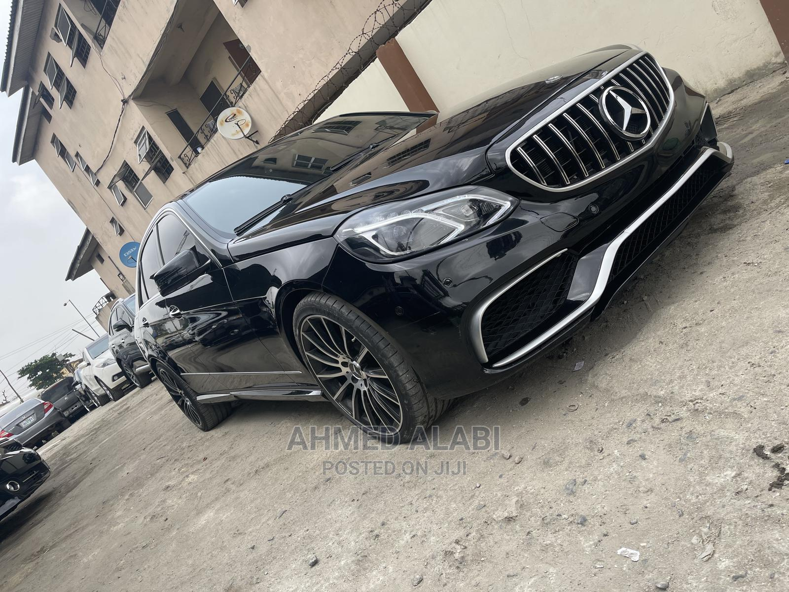 Mercedes-Benz E350 2014 Black   Cars for sale in Surulere, Lagos State, Nigeria