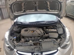 Hyundai Elantra 2013 Silver   Cars for sale in Lagos State, Shomolu