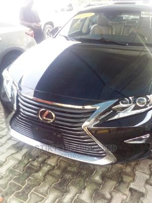 Lexus ES 2017 350 FWD Black | Cars for sale in Lagos State, Ikeja