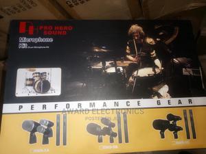 7 Set of Drum Microphone, Pro Hero Sound | Audio & Music Equipment for sale in Lagos State, Lekki