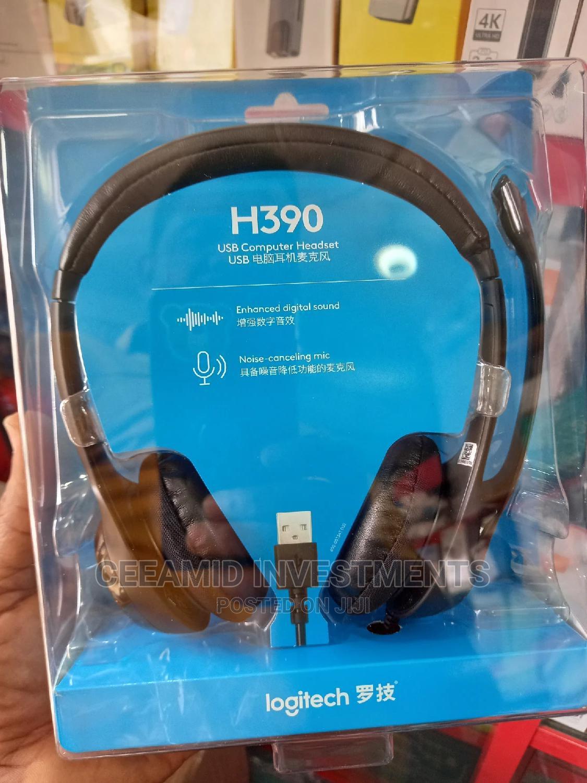 Logitech H390 USB Headset | Headphones for sale in Ikeja, Lagos State, Nigeria