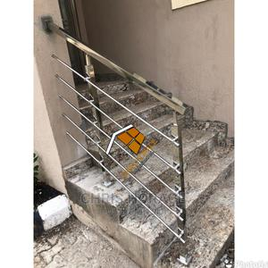 Stainless Steel Handrails(Square Pipe)   Building Materials for sale in Abuja (FCT) State, Kaura