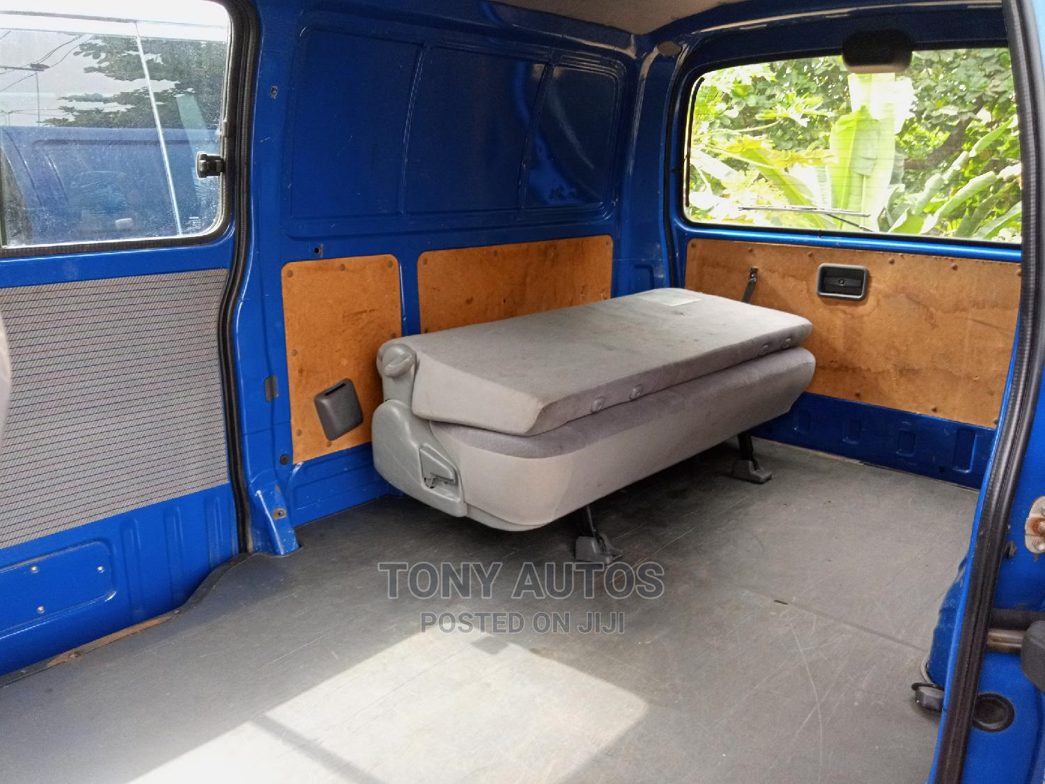 Blue Toyota Hiace Container Body   Buses & Microbuses for sale in Apapa, Lagos State, Nigeria