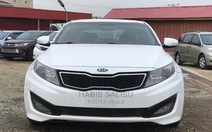 Kia Optima 2013 White   Cars for sale in Abuja (FCT) State, Jahi