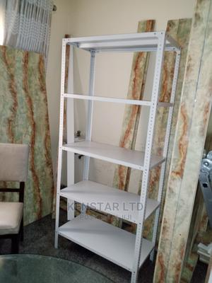 Adjustable 5-shelves, Bolted Steel Shelving Storage Rack   Store Equipment for sale in Lagos State, Yaba