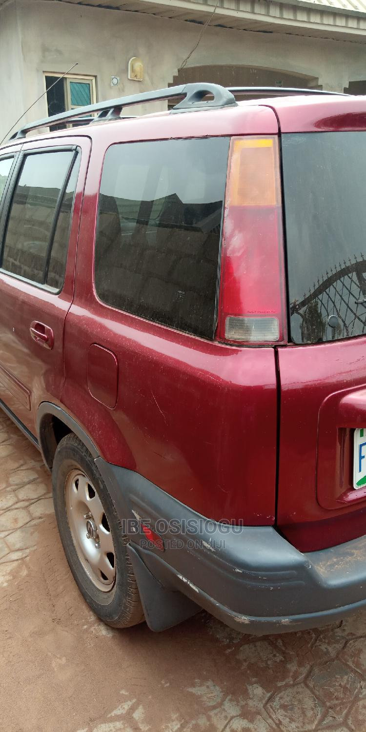 Archive: Honda CR-V 2000 2.0 Automatic Red