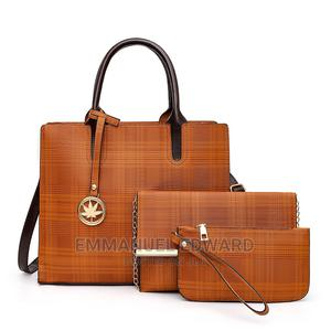 Women High Quality Ladies Bags PU Leather Handbags Set | Bags for sale in Lagos State, Alimosho