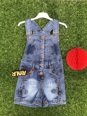 Adorable Girl Denim Dungarees   Children's Clothing for sale in Lagos State, Alimosho