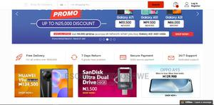 I Design Modern Ecommerce Online Store   Computer & IT Services for sale in Abuja (FCT) State, Wuse 2