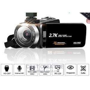 Camcorder Digital 2.7k With Remote Control | Photo & Video Cameras for sale in Lagos State, Ikeja