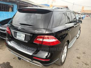 Mercedes-Benz M Class 2012 ML 350 4Matic Black | Cars for sale in Lagos State, Surulere