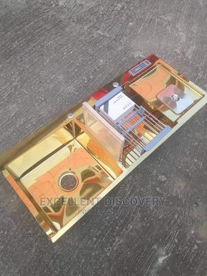 Gold Double Bowl Sink   Plumbing & Water Supply for sale in Lagos State, Orile