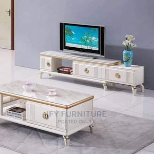 Brand New Imported Adjustable Tv Stand With Center Table | Furniture for sale in Lagos State, Ojo