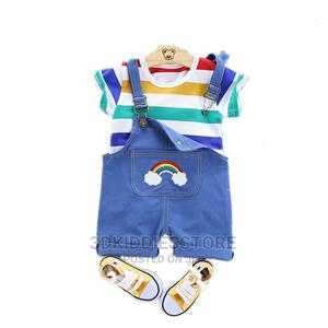 Dungarees and Shirt    Children's Clothing for sale in Lagos State, Ajah