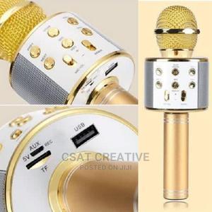 Karaoke Bluetooth Microphone   Audio & Music Equipment for sale in Lagos State, Ikeja